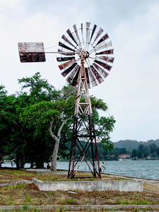 Windmill on Lumut Waterfont