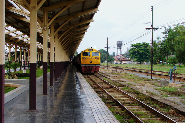 Train at Chiang Mai Station