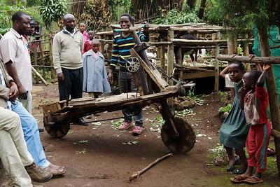 Wooden Bicycle - Uganda