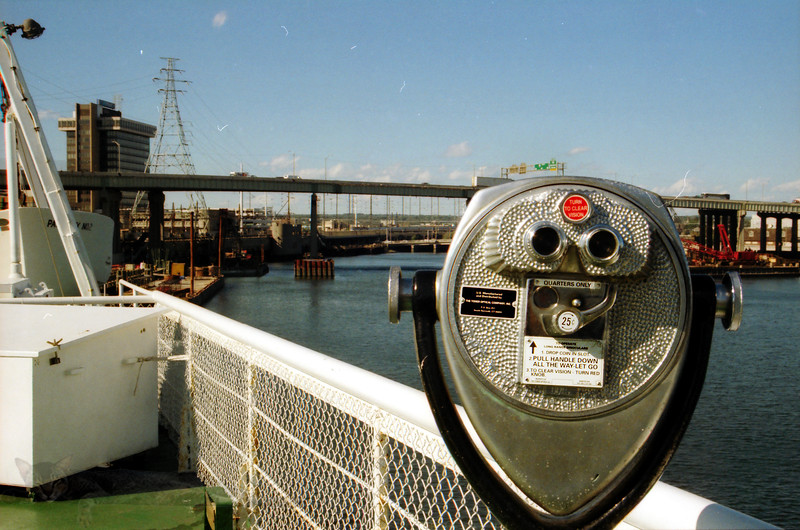 Bridgeport & Port Jefferson Ferry - Binoculars