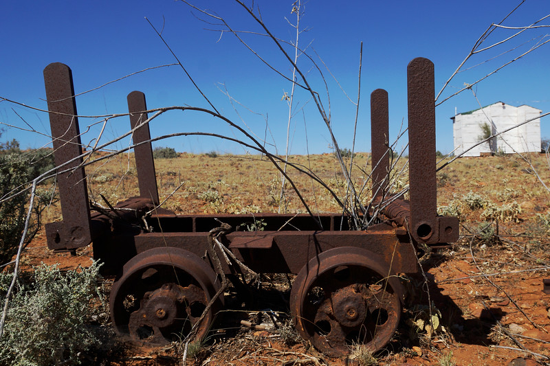 Mine Machinery near Broken Hill