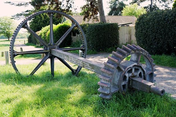 Wimbledon Windmill - Cog Wheel