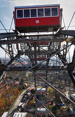 Vienna Park and Third Man Ferris Wheel