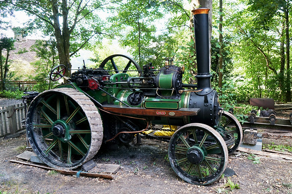 Traction Engine - Weald and Downland Museum - West Sussex