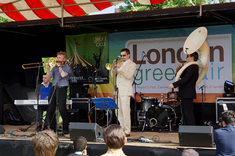Music at The Green Fair - London - 2012