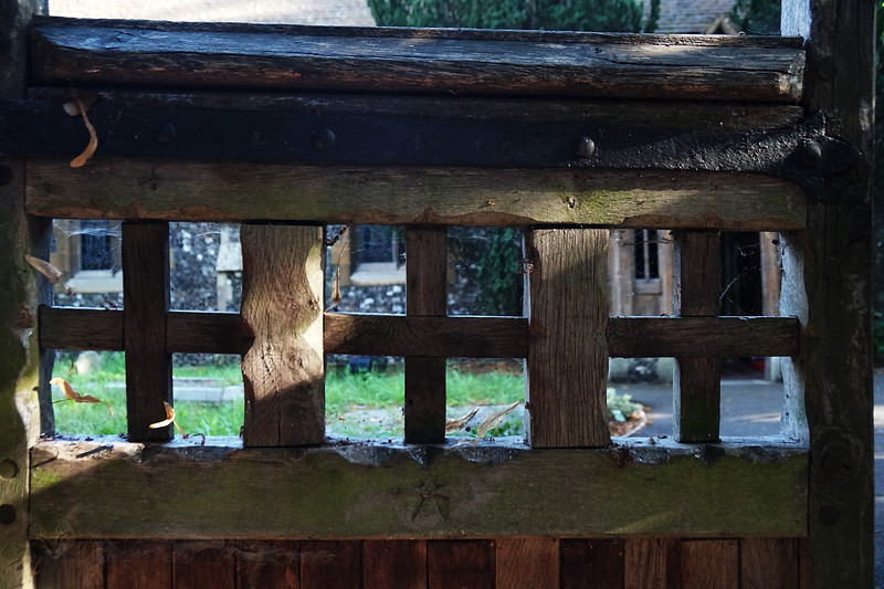 St Mary's Church - Wooden Gate