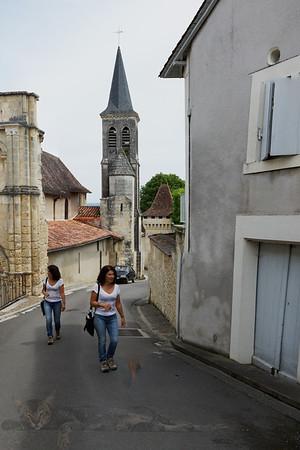 Street Scene - Aubeterre Sur Dronne