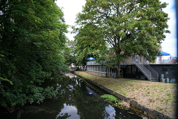 River Wandle at Merton Abbey Mills
