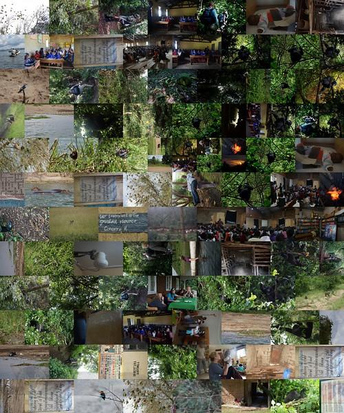 Mosaic from Photographs using ANDREAMOSAIC Freeware