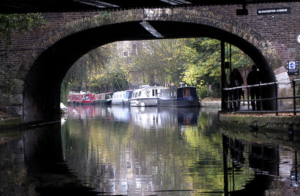 Camden - Regents Canal, London