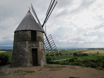 Windmill in Villasavary - France