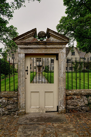 Gate to Avebury Manor Garden