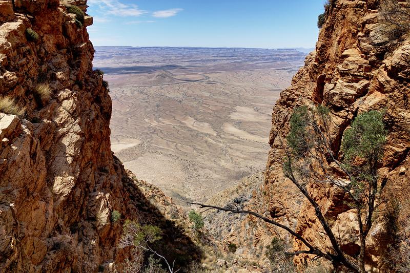 Climbing The Naukluft Mountain