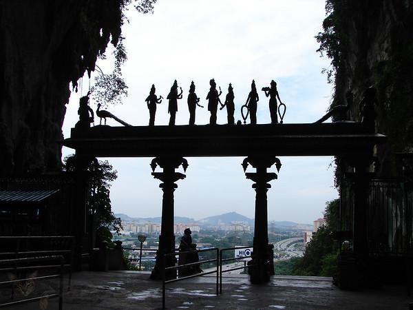 Sillhouettes in Malaysia