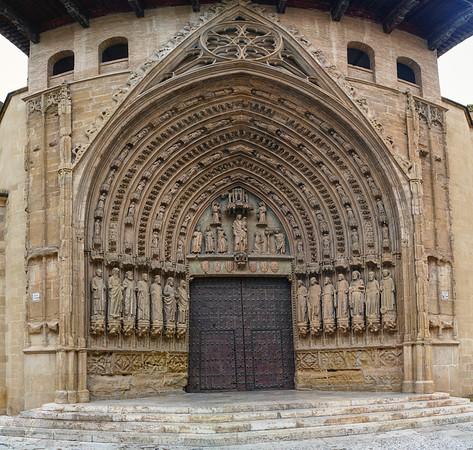 Doorway in Huesca