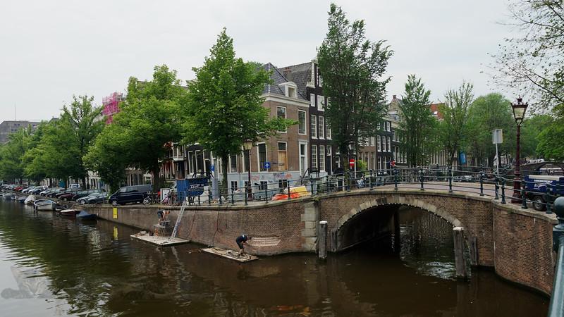 Canal Bridge - Amsterdam