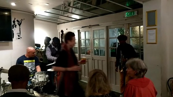 Jazz at The Effra Hall Tavern Brixton - Video