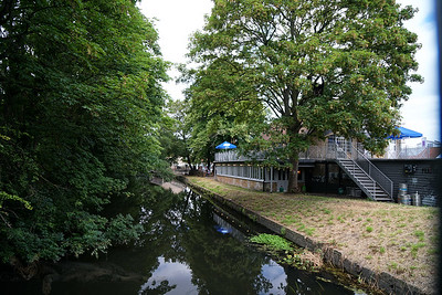 River Wandle at Merton Abbey Mills