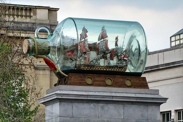 Nelson's Ship in a Bottle - London 2010
