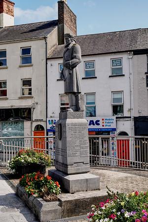 Statue In Commemoration of Members of the IRA Athlone Brigade