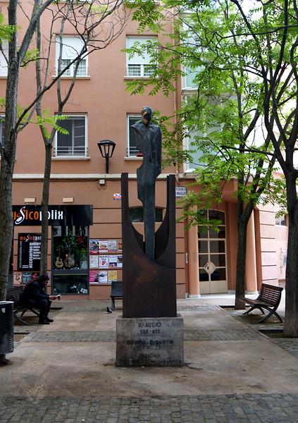 Braulio Statue - Zaragoza