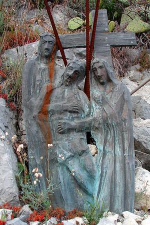 Taormina - Station of the Cross - Sicily