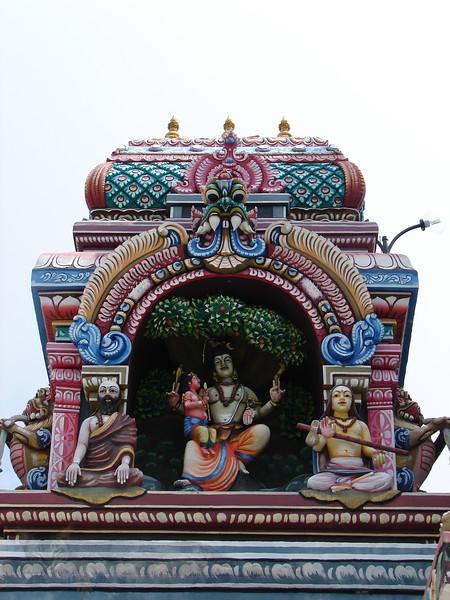 Penang - Penang Hill Temple Statues - Malaysia