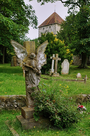 St Andrew's Church - Jevington - Sussex - Graveyard
