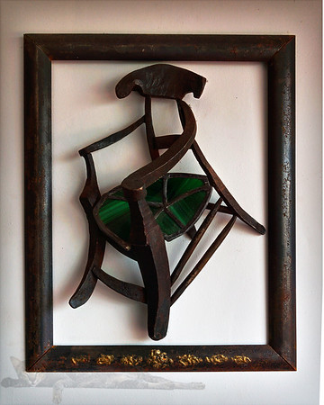 "Van Gogh Style ""Gaugin's Chair"" Sculpture"