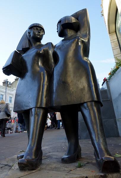 'Walking Women' AKA 'Two Fat Ladies'