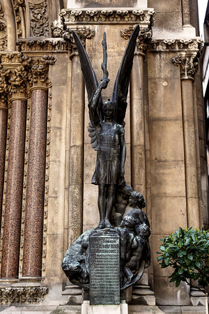St Michael Cornhill War Memorial