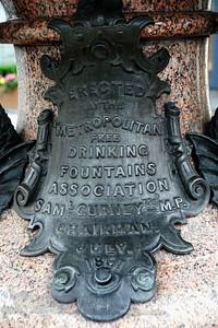 Drinking Fountain at Blackfriars - London