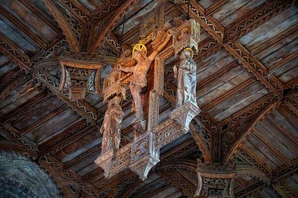St David's Cathedral - Crucifix