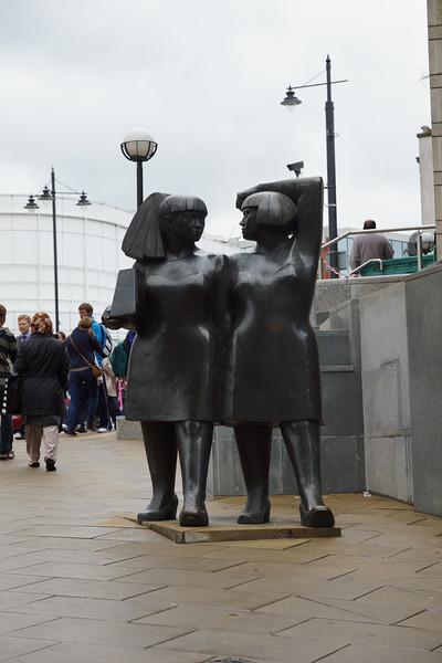 Walking Women by Andre Wallace