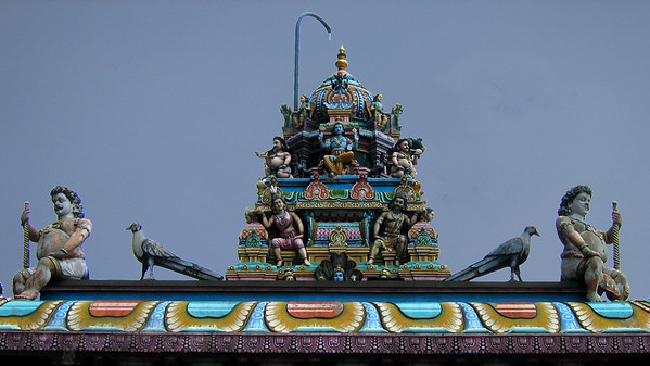 Temple Carvings - Malaysia