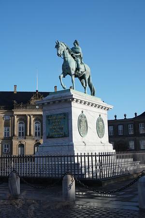 Equestrian Statue - King Frederik V