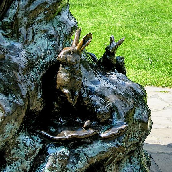 Detail of Peter Pan Sculpture - Kensington Gardens
