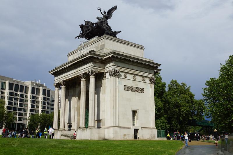 The Wellington Arch - Hyde Park Corner