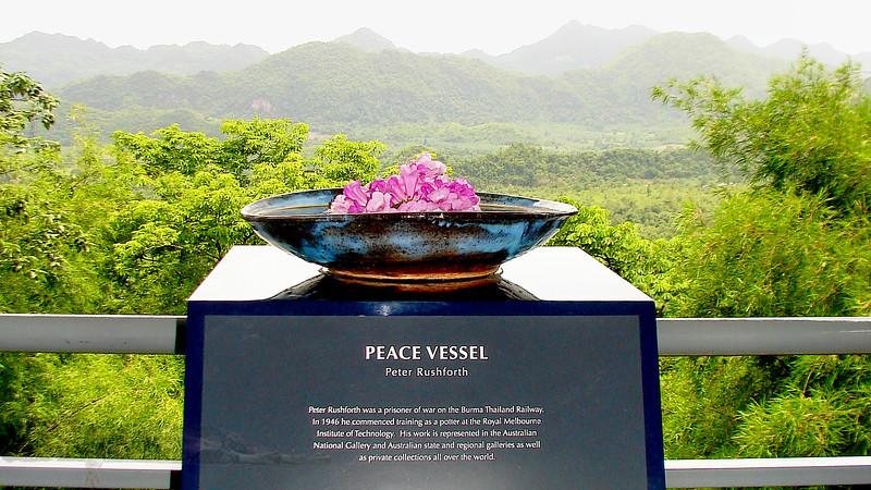 Peace Vessel Sculpture - Hellfire Pass