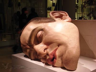 Ron Mueck Sculpture