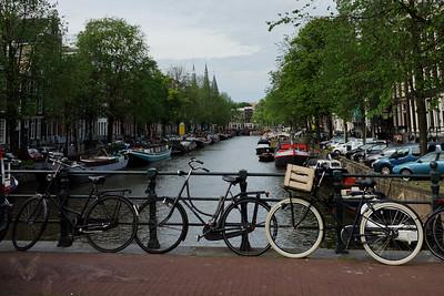 Kaisersgracht Canal looking north from Prinsenstraat / Herenstraat