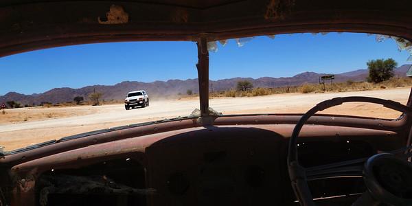 Vehicle Wrecks in Namibia