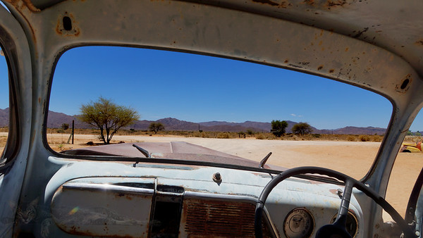 Vehicle Wrecks in Namibia