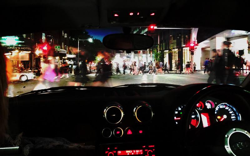 Night Drive in Sydney