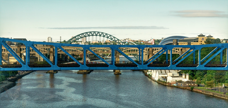 Newcastle - Bridges over The River Tyne