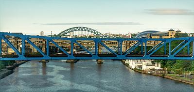 Newcastle - Bridges over The River Tyne