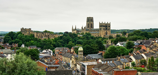 Durham Cathedral from the Train