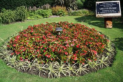 John Innes Park - Flower Bed