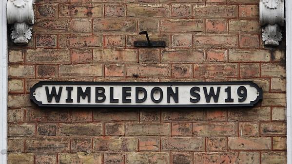 WIMBLEDON SW19 Sign