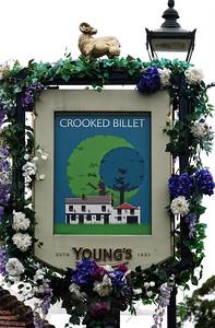 Crooked Billet Public House Sign